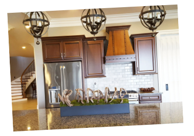 Kitchen tilted