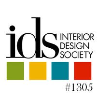 Interior Design Society Logo with License Number